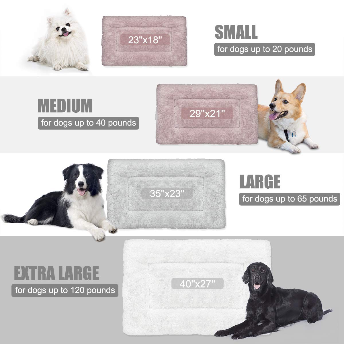 Amazon.com: SIWA MARY - Colchón para cama de perro, suave ...