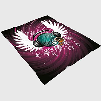 Amazon.com: Soft Beautiful Throw Blanket Custom Design Cozy ...