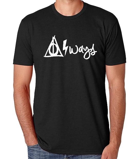 51ed83d4b Amazon.com: Harry Potter Men's Always T-Shirt: Clothing