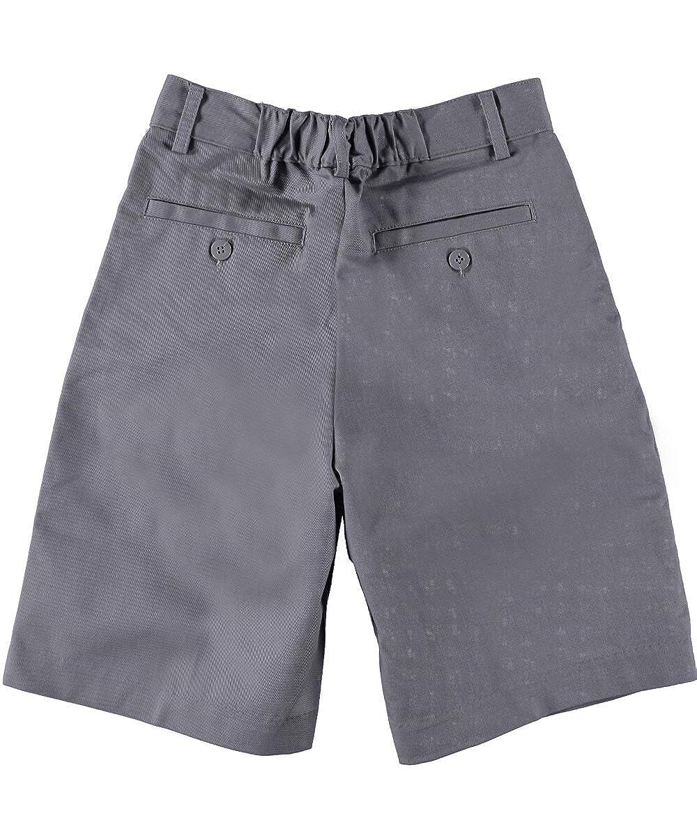 Universal Boys Pleated Front School Uniform Short Gray Size 7