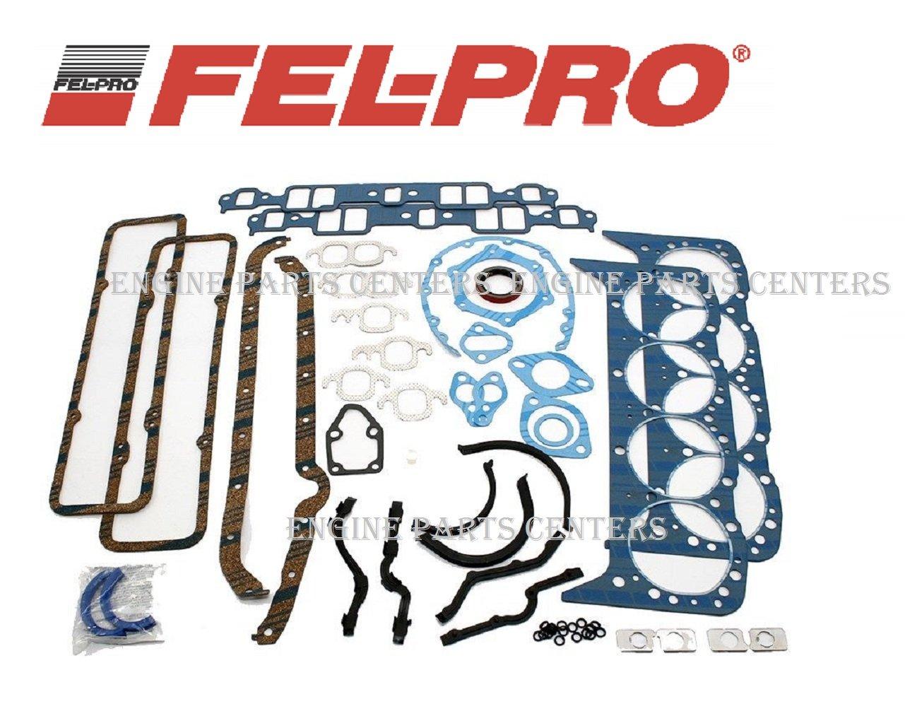 Fel Pro 260 1000 Small Block Chevy Overhaul Gasket Kit 350 Hei Distributor Rebuild 55 79 283 327 Sbc Stock Gskt Set Automotive