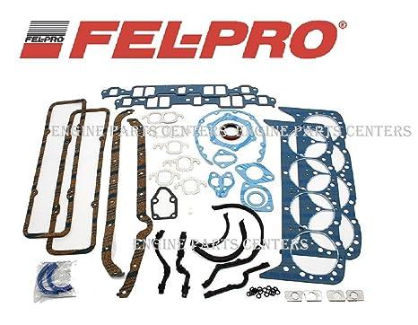 Fel Pro 260 1000 Small Block Chevy Overhaul Gasket Kit 55 79 283 327 350 Sbc Stock Gskt Set