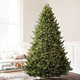 Balsam Hill Vermont White Spruce Premium Prelit Artificial Christmas Tree, 4.5 Feet, Clear Lights
