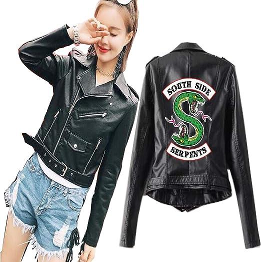 Amazon Com Southside Serpents Pu Leather Jacket Coat Kpop