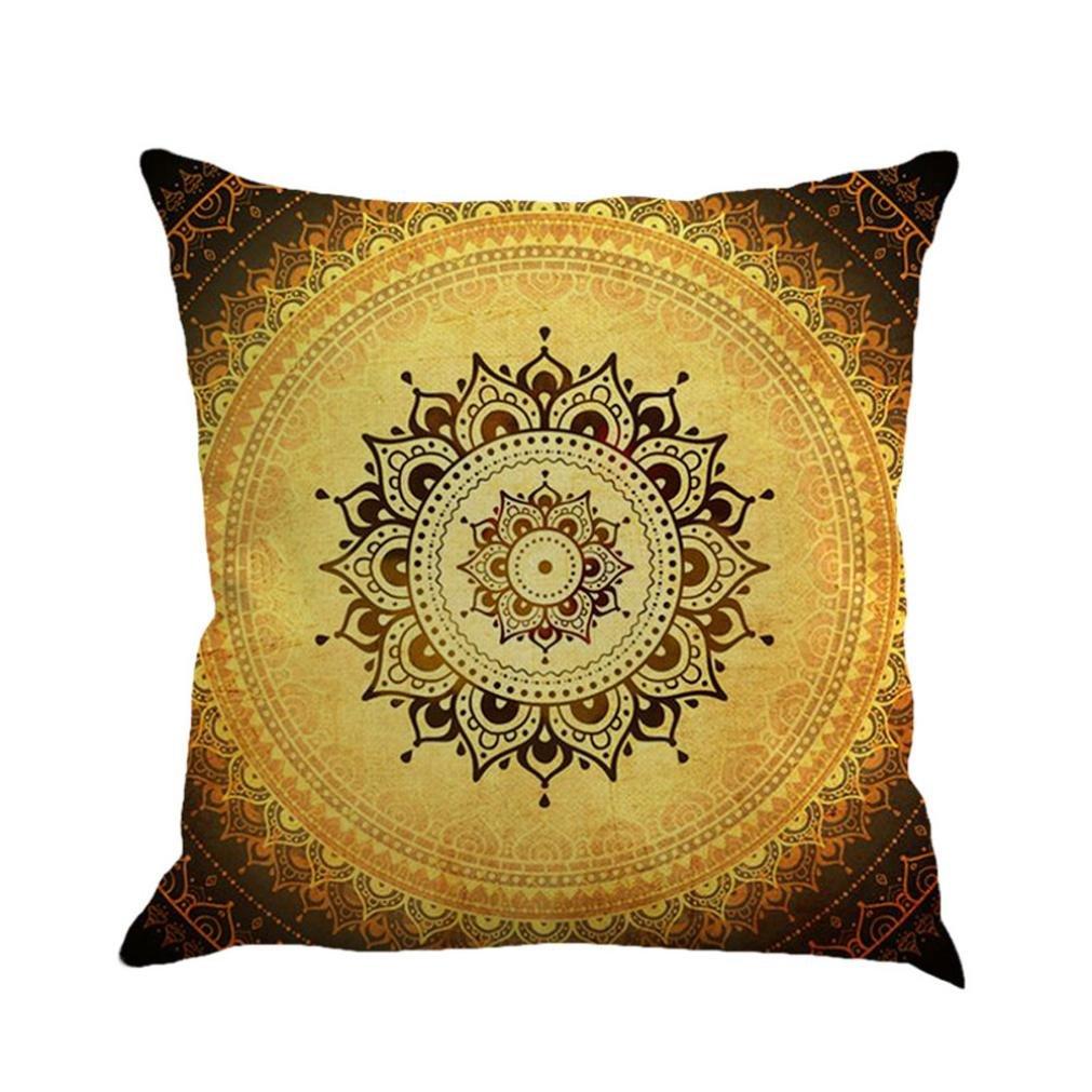 Peach Coral Gray White Chevron Zigzag Pattern Throw Pillowcase Standard Size 18 x 18