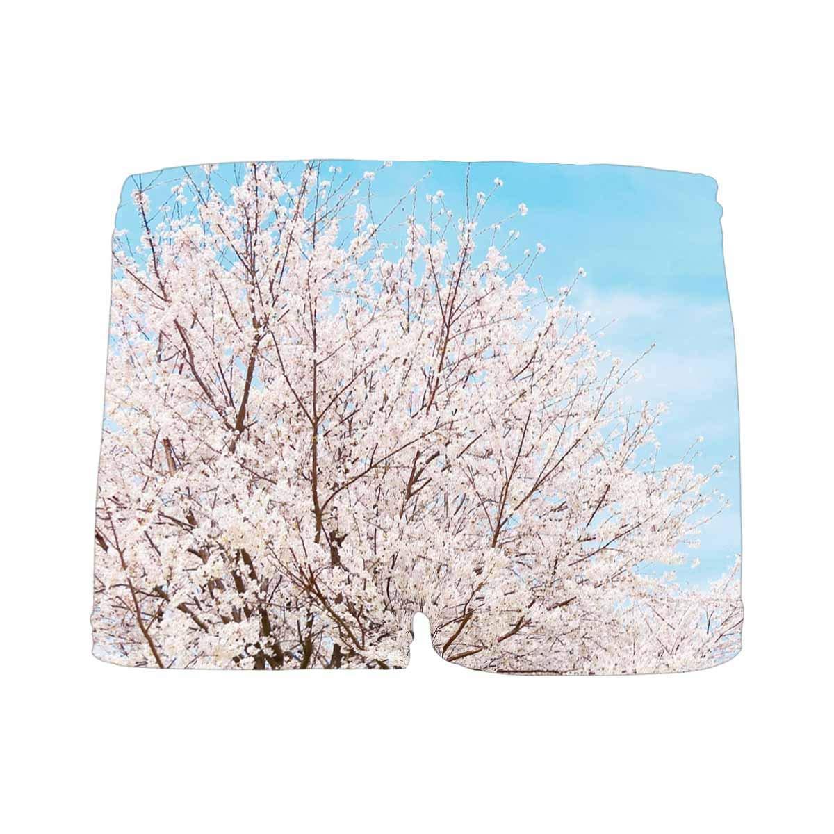 5T-2XL INTERESTPRINT Boys Spring Tree Cherry Blossom Sakura ComfortSoft Printed Boxer Briefs