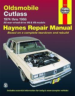 Buick Oldsmobile /& Pontiac Full Size Models 1970-1990  Repair Manual 1563922479