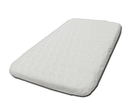 buy online e440a aa983 SUZY® Microfibre Hypoallergenic Crib Mattress 4cm Thick: Compatible With  The Next To Me Crib British Made