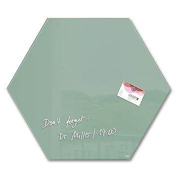 SIGEL GL281 Artverum - Pizarra de cristal magnética ...