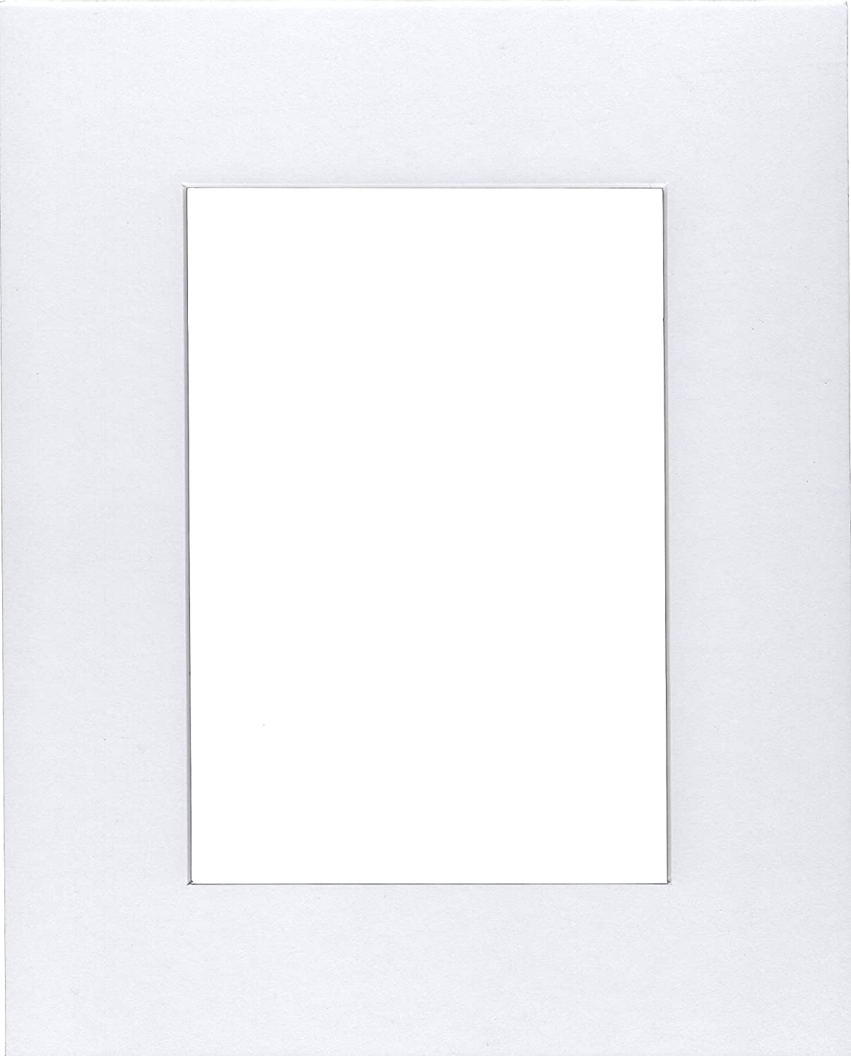 for 4x6 Pictures Bux1 Matting 20 5x7 White Picture Mats with White Core