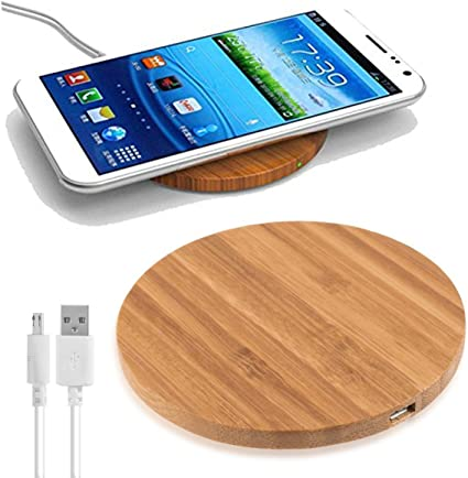 chargeur induction bambou
