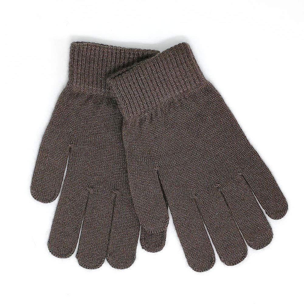Black Grey Gray Mongolia Pure Cashmere Men Man Wool Gloves