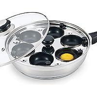 Eggsentials Poached Egg Maker - Antiadherente 6 tazas