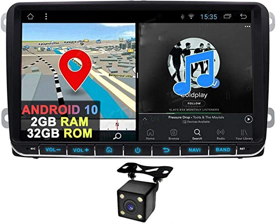 9 Zoll Android 9 0 2 Din Autoradio Haupteinheit Mit Dsp Elektronik