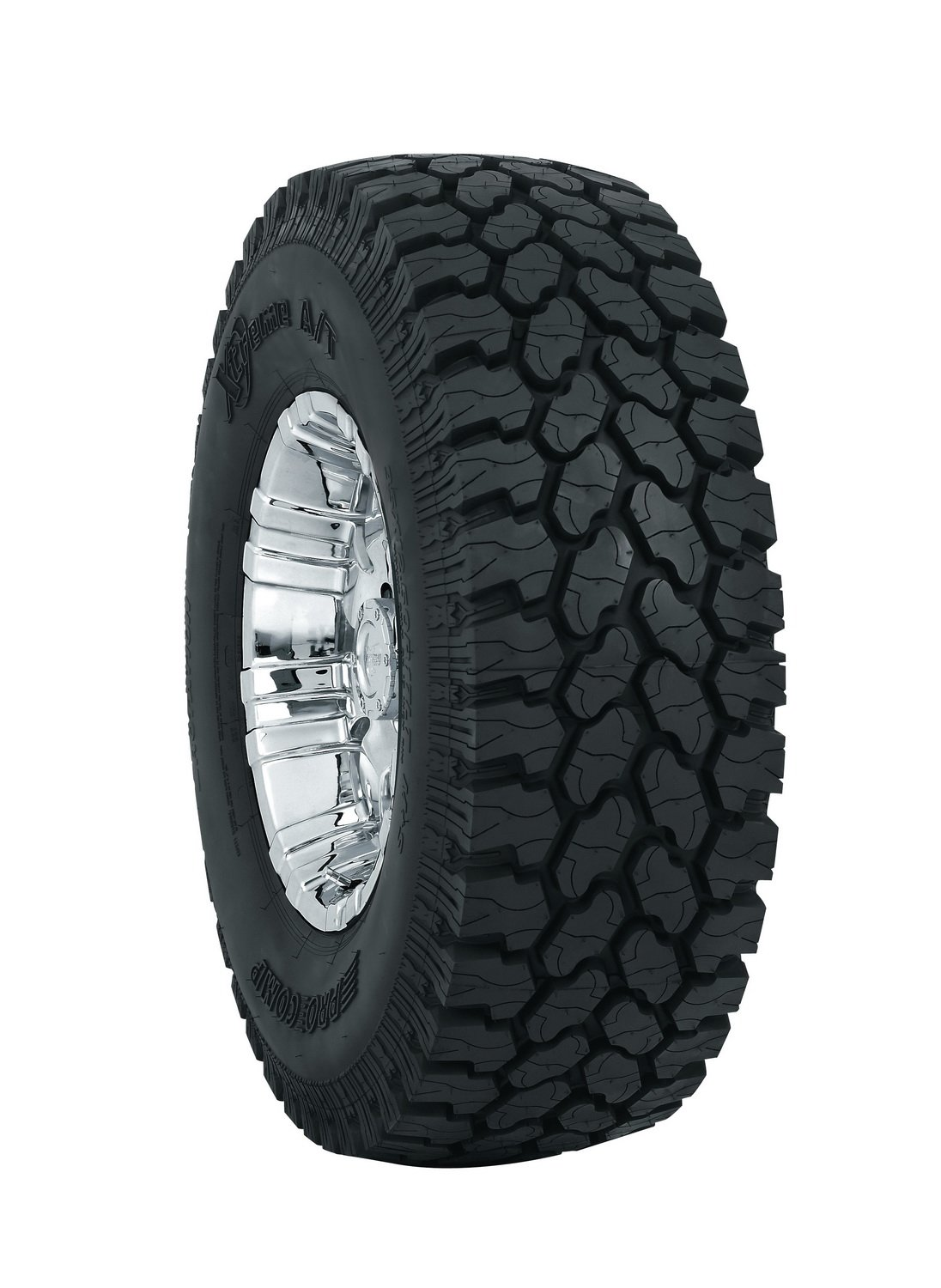Pro Comp Tires 56305 Pro Comp Xtreme All Terrain Tire Size LT305/70R16 Outlined Black Letters Load Range E Max Load 3525 Tread Depth 19/32 Available White Supplies Last Pro Comp Xtreme All Terrain Tire