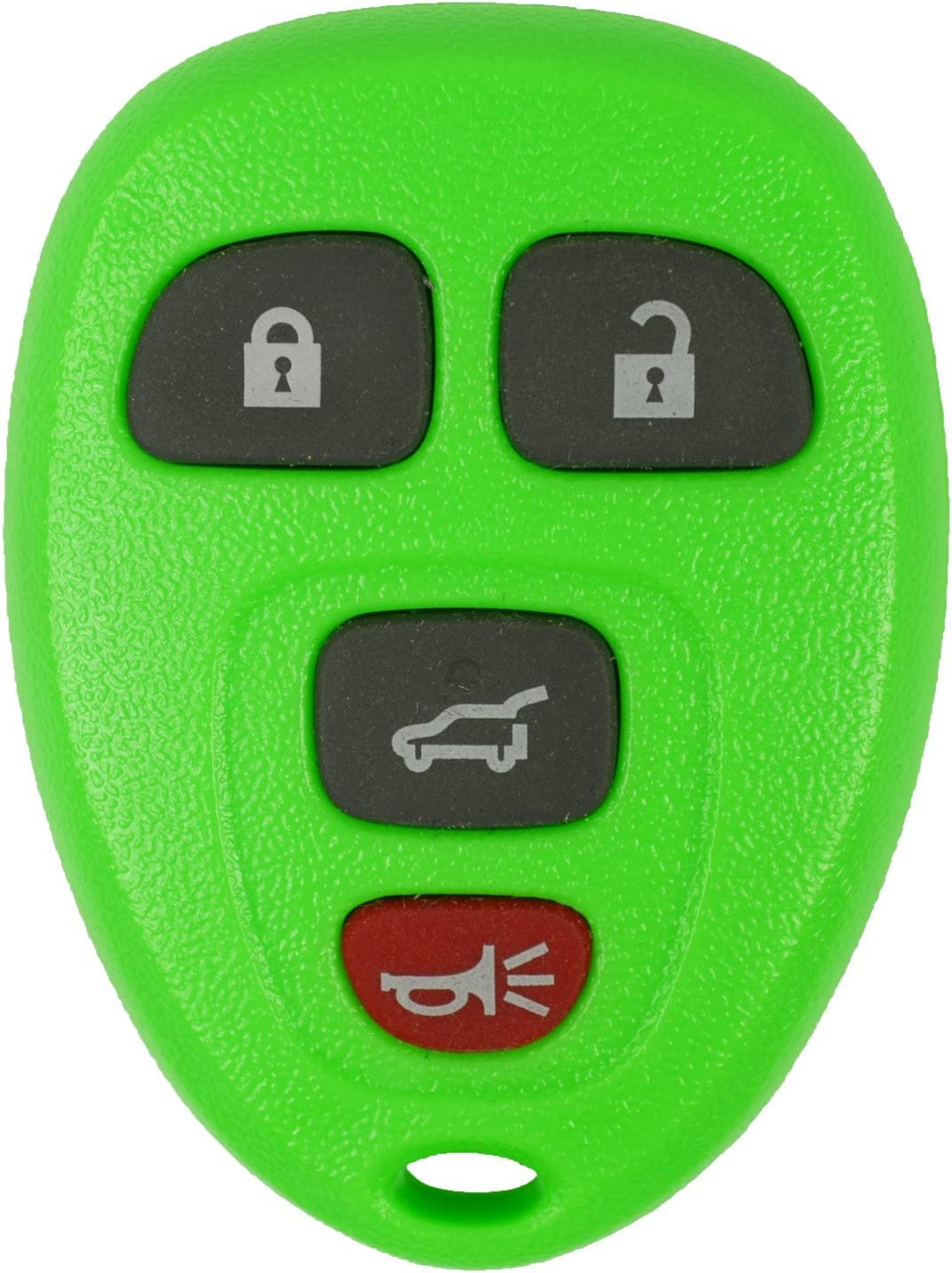qualitykeylessplus Green Remote Replacement 4 Button Hatch OUC60270 Free KEYTAG Keyless Entry FCC ID