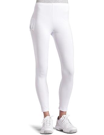Bollé Womens Two Pocket Tennis Pant, White, Medium