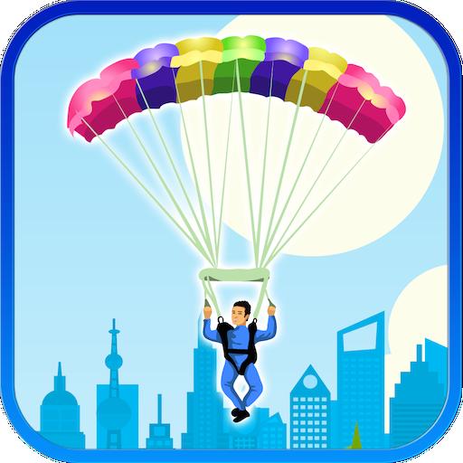 Parachute Flare Landing