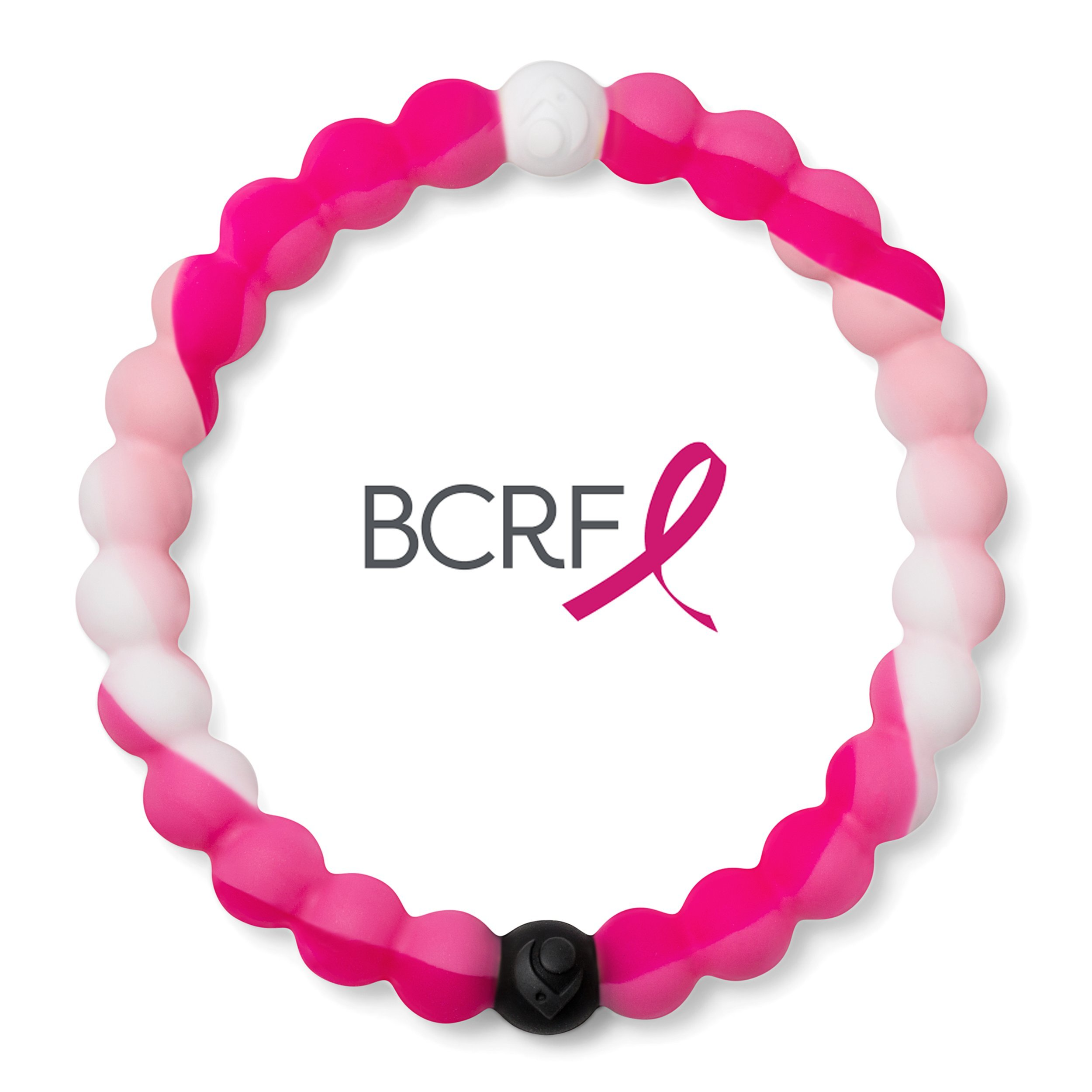 Cause Collection Bracelet, BCRF Swirl, 7.5'' - Extra Large