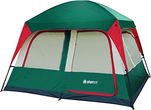 GigaTent Prospect Rock 10 x 8 4-5 Person Two Room Camping Tent
