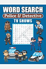 Word Search Police & Detective TV Shows: Word Find Puzzle Book For TV Show Lovers Paperback