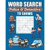 Word Search Police & Detective TV Shows: Word Find Puzzle Book For TV Show Lovers