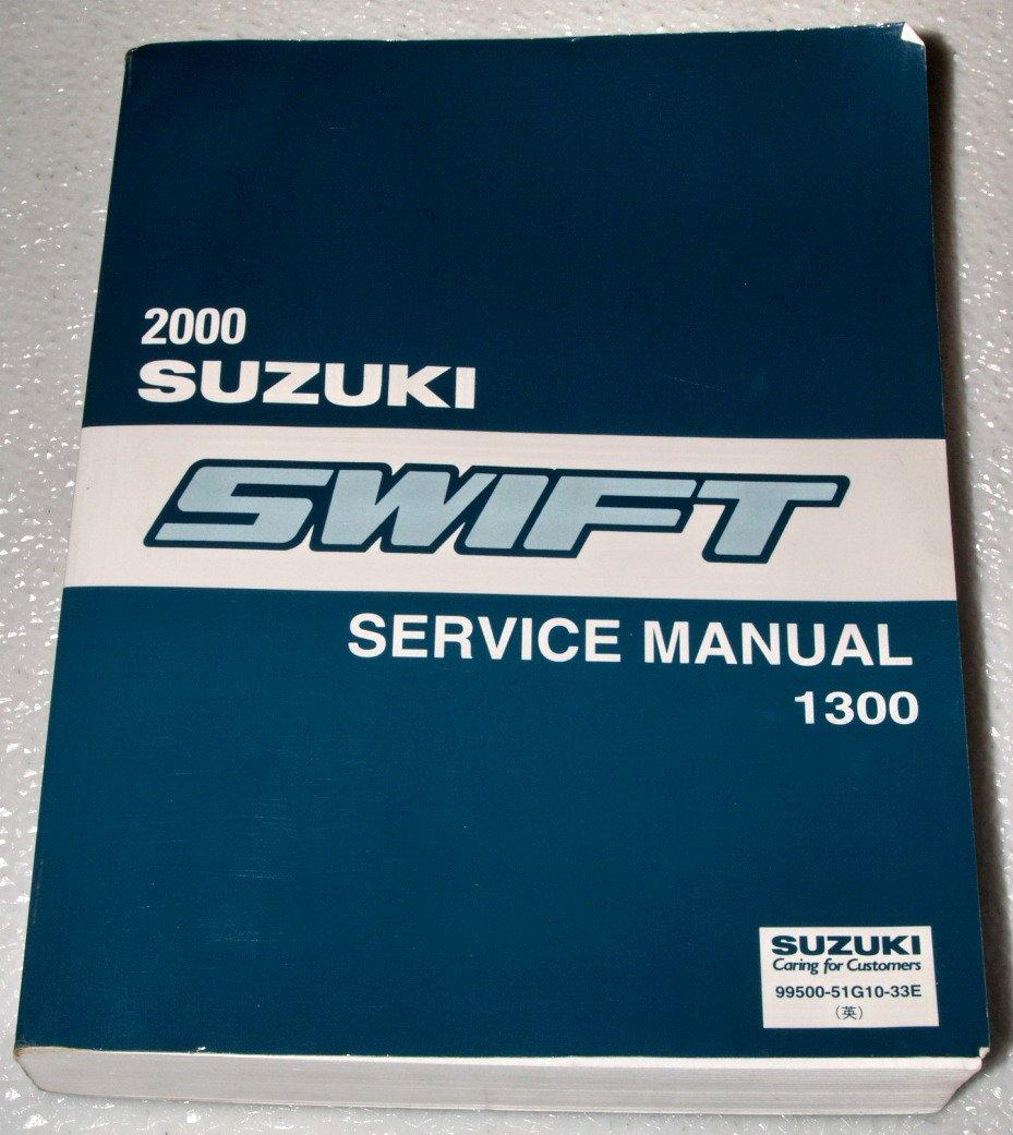 2000 Suzuki Swift Transmission: 2000 Suzuki Swift 1300 Factory Service Manual Complete