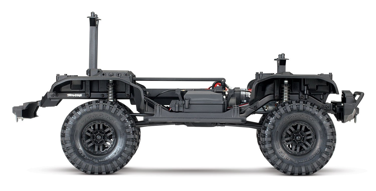Amazon.com: Traxxas Trx-4 Chassis 1/10 Trail and Scale Crawler, Kit ...