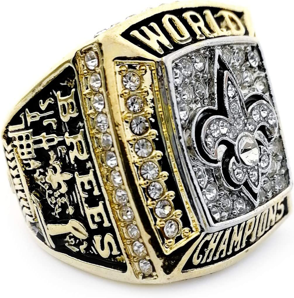 Size 11, 2009 New Orleans Saints New Orleans Saints 2009-2010 Replica Championship Ring