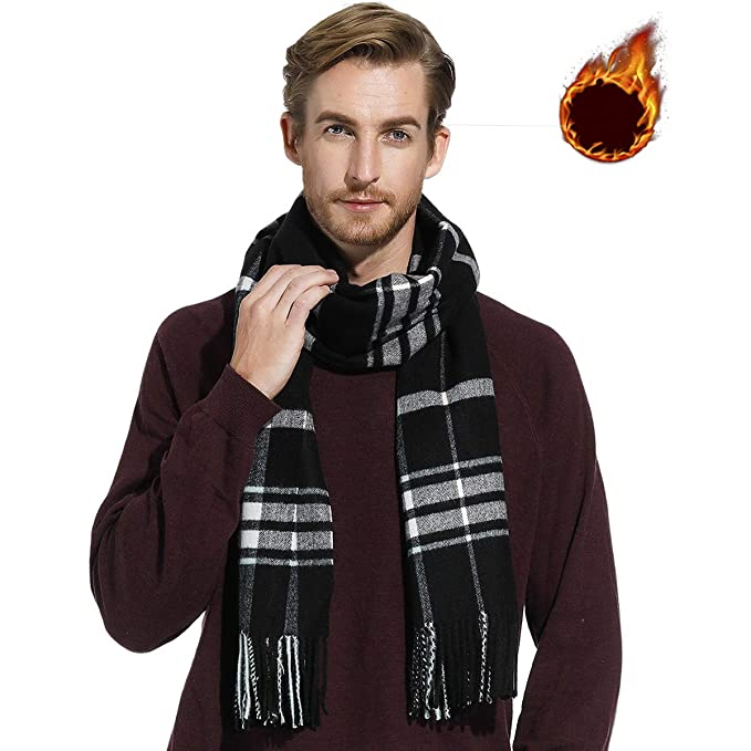 Winter Scarf Men Women Scarves Lady Girl Shawl Wrap Large Long Thick
