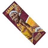 "Mission NBA Caricature Enduracool Microfiber Towel, Cleveland Cavaliers LeBron James, 12"" x"