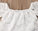 Baby Girl Summer Clothes White Lace Tube Top + Blue