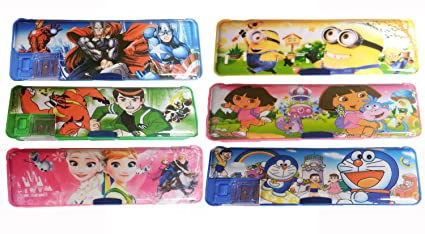 Gifts Online Set Of 6 Pencil Box