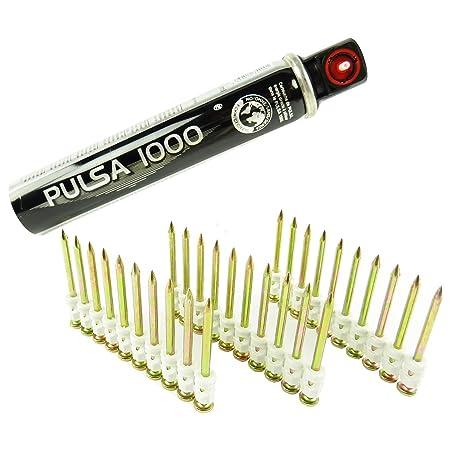 Pulsa 1000 nails fastening 1x gas cartridge 500x original Spit C6-35 35 mm
