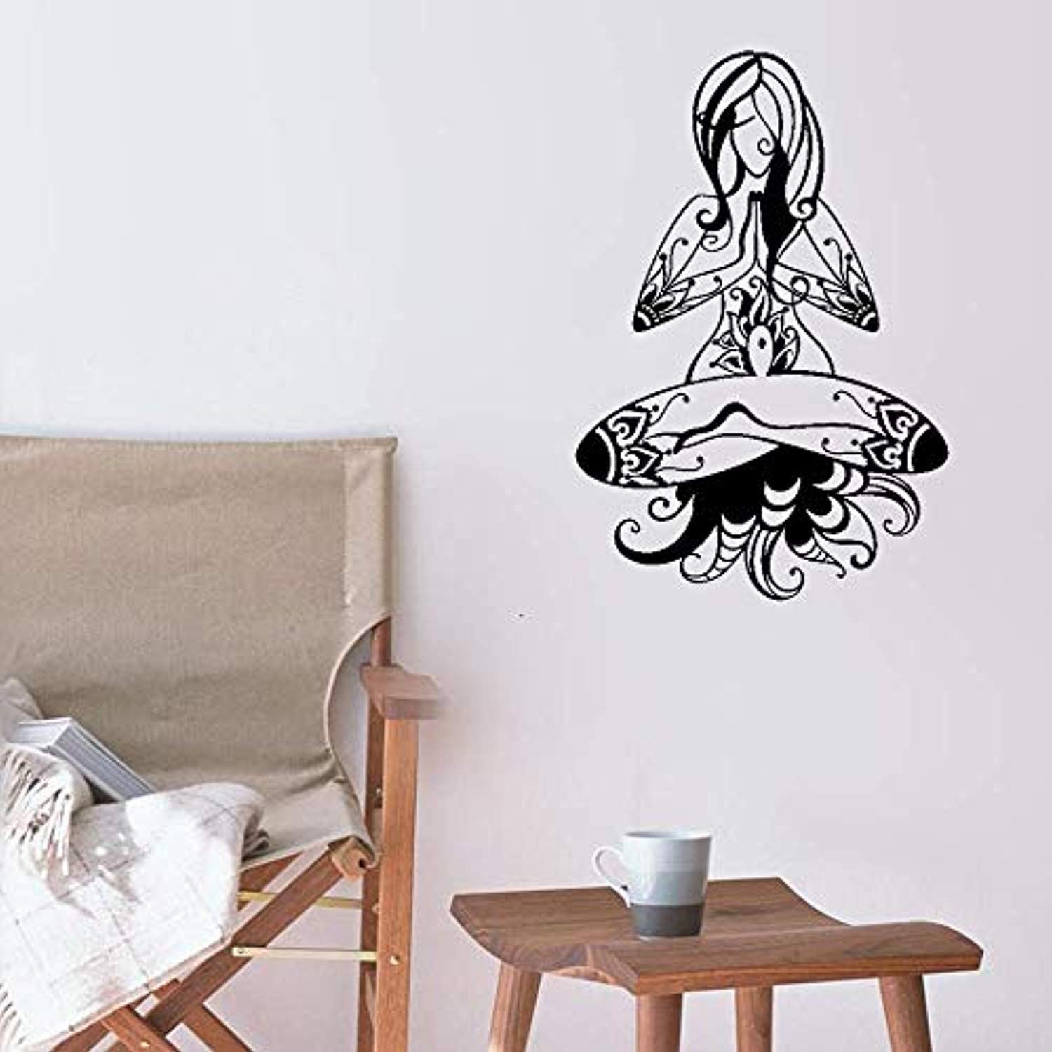 Amazon Com Large Vinyl Wall Decal Relax Words Cloud Zen Meditation Stickers Large Decor Ig4460 Sky Blue Home Kitchen