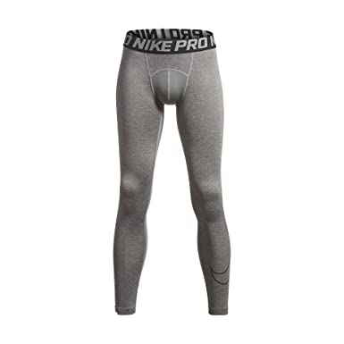 24facf8e5f Amazon.com: Nike Boys' Cool Hbr Comp Tights (Little Big Kids): Clothing
