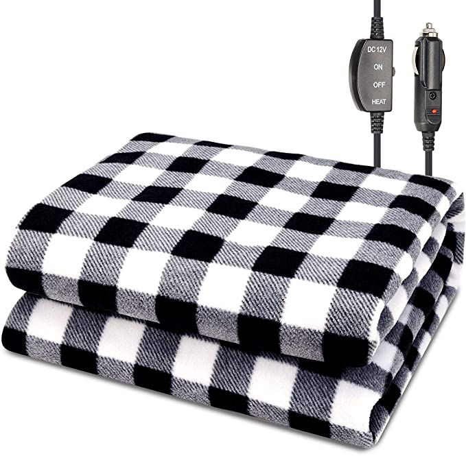 JoyTutus Car Heated Blanket