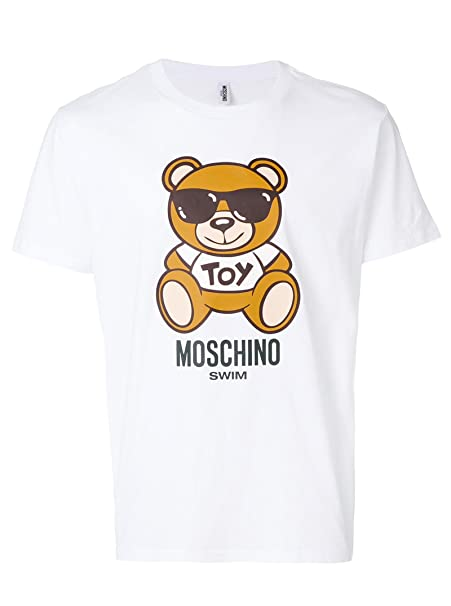 Moschino Swim T-Shirt Unisex XL  Amazon.it  Abbigliamento 9c55e410366