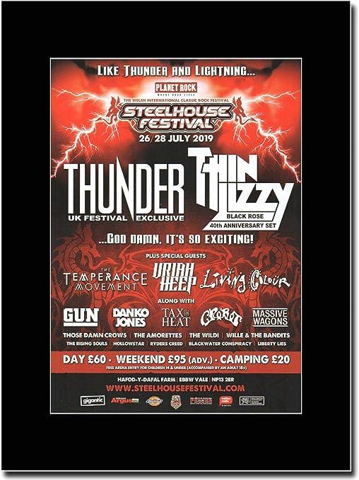 Steelhouse Festival 2019 - Thinder - Thin Lizzy - Uriah Heep ...