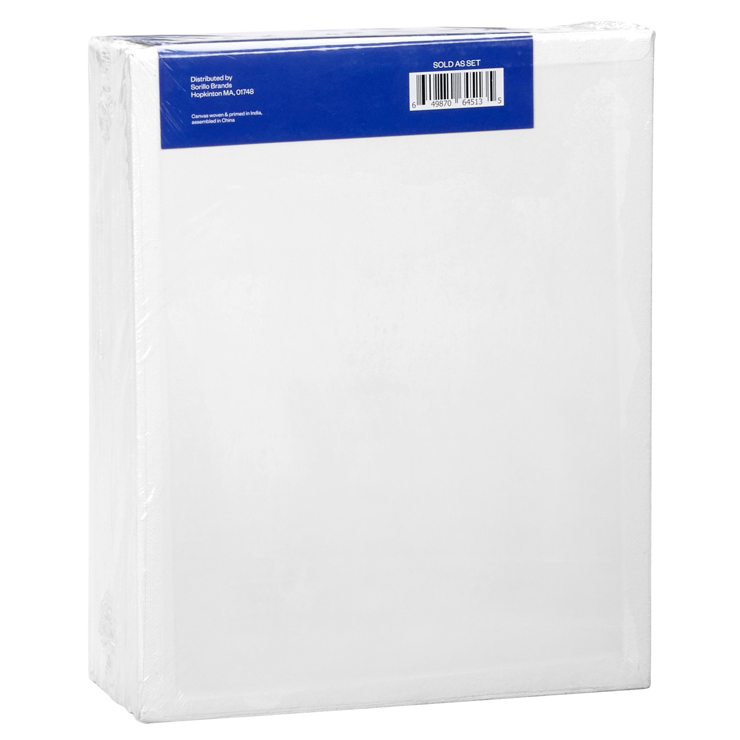 Artlicious - 8x10 Classroom Super Value 24 Pack - Artist Canvas Panel Boards for Painting by Artlicious (Image #2)