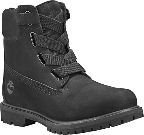 1819f348b0248 Timberland 6 Inch Premium Pull On Boots Black  Amazon.co.uk  Shoes   Bags