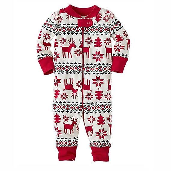 Pijamas Conjunto De Pijama Familia De Navidad Ropa De Dormir Joven Bastante Navideños para Mamá Bebé