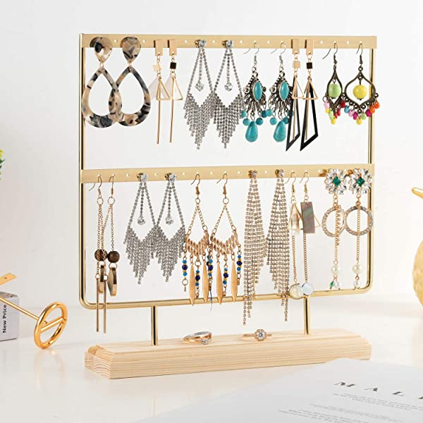 1Pc Earrings Necklace Pendant Display Stand Rack Accessories Jewelry Holde l ZA!