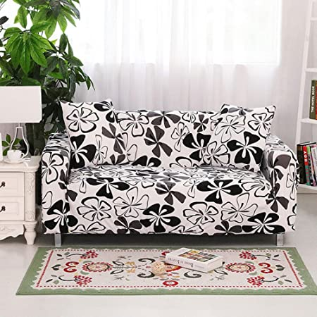 Hotniu Sofa Throws Washable Fitted Sofa Cover Stretch Couch