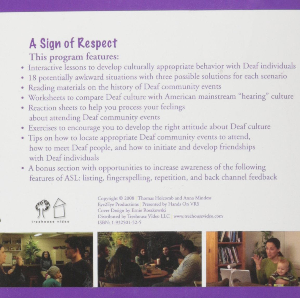 A Sign of Respect: Strategies for Effective Deaf/Hearing ...