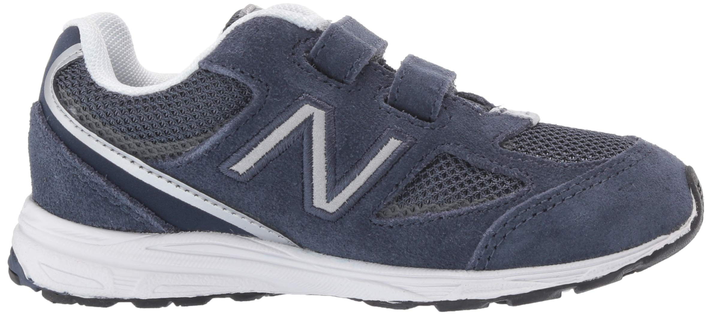 New Balance Boys' 888v2 Hook and Loop Running Shoe, Navy/Grey, 2 W US Infant by New Balance (Image #6)