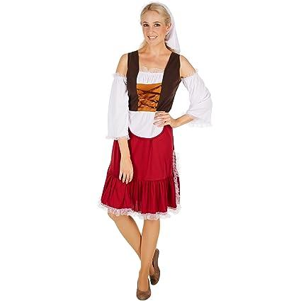dressforfun Costume da Donna - Serva Medievale  8d794e253335