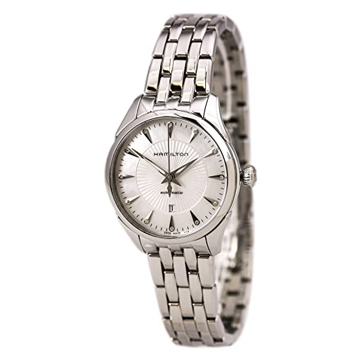 Hamilton Lady Auto Mother Of Pearl Dial Stainless Steel