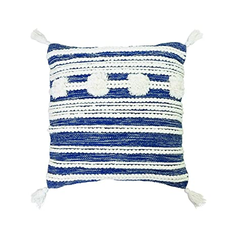 Amazon.com: Almohada tejida a mano de 7.9 x 7.9 in.: Home ...