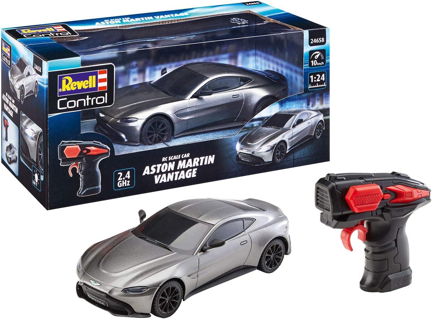 Revell 24658 Aston Martin Vantage Ferngesteuertes Auto Silbergrau Amazon De Spielzeug